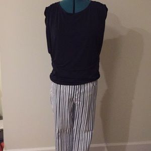 Chico's top and ankle pants